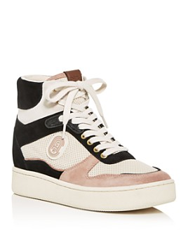 COACH - Women's High-Top Platform Sneakers