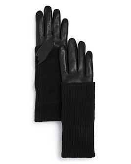AQUA - Convertible-Cuff Tech Gloves - 100% Exclusive