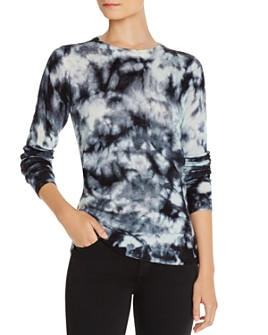 C by Bloomingdale's - Splatter Tie-Dye Cashmere Sweater - 100% Exclusive