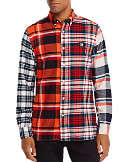 Tommy Hilfiger - Multi-Check Regular Fit Button-Down Shirt