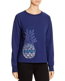 Tommy Bahama - Embroidered-Pineapple Sweatshirt