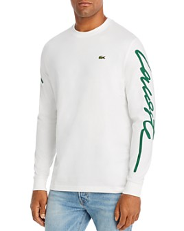 Lacoste - L!VE Long-Sleeve Logo Tee