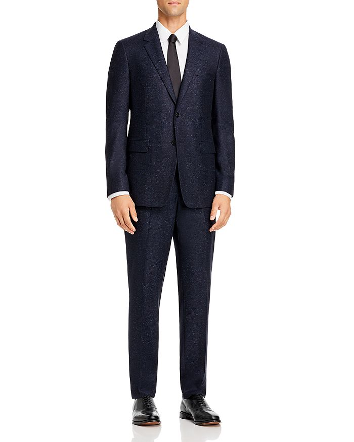 Theory - Mayer Navy Donegal Slim Fit Suit Separates