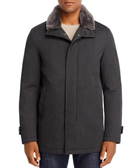 Herno - Beaver-Collar Car Coat