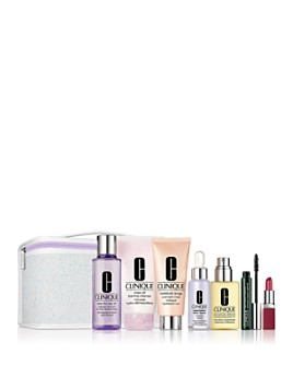 Clinique - Fan Favorites Gift Set for $49.50 with any $29.50 Clinique purchase ($226 value)!