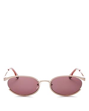 Le Specs Sunglasses WOMEN'S TRES SOLO OVAL SUNGLASSES, 56MM