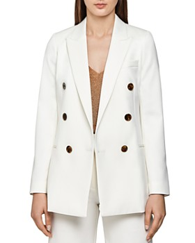 REISS - Aleida Double Breasted Peak Lapel Blazer