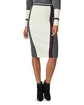 Ted Baker - Glowti Color-Blocked Knit Skirt