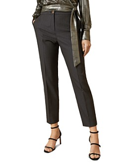 Ted Baker - Neolaat Working Title Jacquard Tailored Trousers