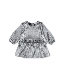 Habitual Kids - Girls' Collette Pleated Metallic Dress - Little Kid