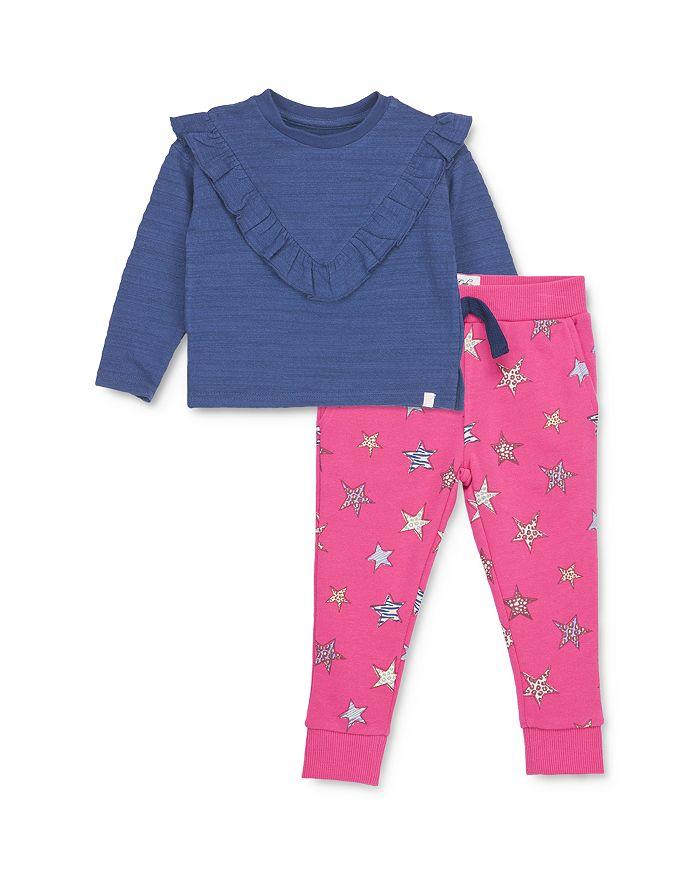 Sovereign Code - Girl's Judy Ruffled Top & Della Star Print Pants - Baby