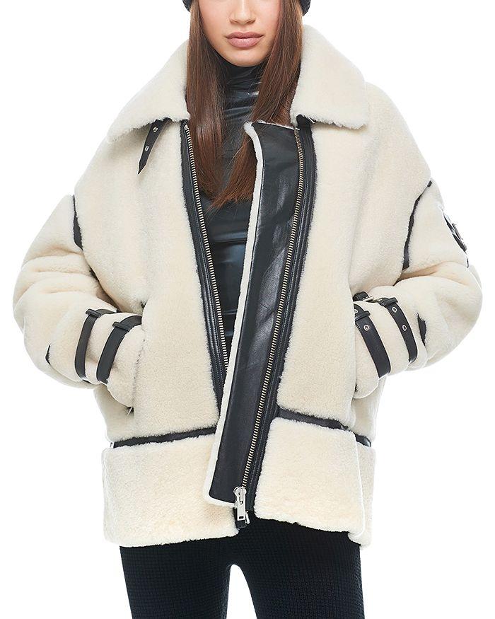 Golden Prairie Shearling Jacket