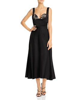 SAU LEE - Chantelle Bustier Style Midi Dress