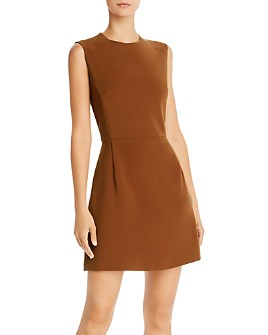 FRENCH CONNECTION - Whisper Sundae Solid Mini Dress