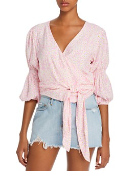 Faithfull the Brand - Bisset Floral Print Wrap Top