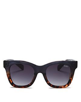 Quay - Women's Quay x Chrissy Teigen After Hours Square Sunglasses, 57mm