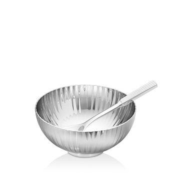 Georg Jensen - Bernadotte 2-Piece Salt Cellar & Spoon Set