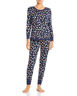 Jane & Bleecker New York - Printed Pajama Set
