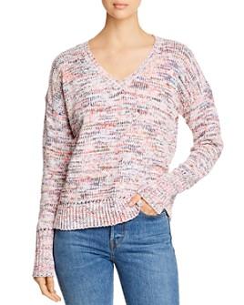 Cupio - Chenille V-Neck Sweater