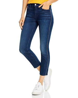 Jen7 by 7 for All Mankind Skinny Ankle Jeans in Nighttime Hudson