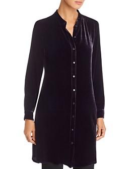 Eileen Fisher - Velvet Tunic Shirt