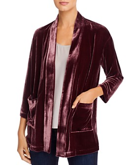 Eileen Fisher - Velvet Open Jacket