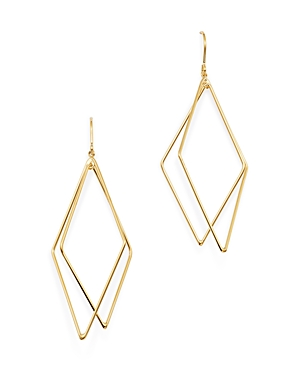 Bloomingdale's Geometric Drop Earrings in 14K Yellow Gold - 100% Exclusive