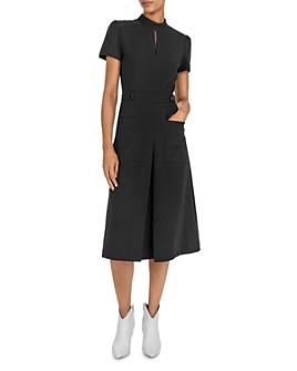ba&sh - Coleen Patch Pocket Midi Dress