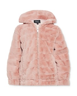 Bardot Junior - Girls' Grooved Faux Fur Jacket - Little Kid