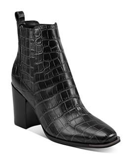 Marc Fisher LTD. - Women's Taline Croc-Embossed Booties