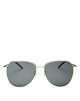 Saint Laurent - Women's Aviator Sunglasses, 60mm