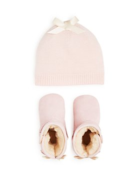 UGG® - Girls' Bixbee Booties & Beanie Set - Baby