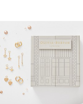 Olivia Burton - House of Huggies Hoop Earrings Gift Set in Yellow Gold-Plated Sterling Silver