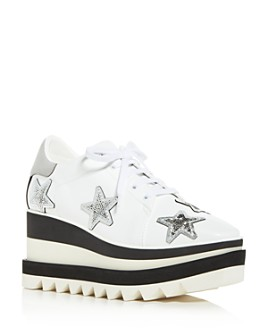 Stella McCartney - Women's Platform Wedge Sneakers