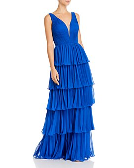 Basix - Pleated Tier Gown