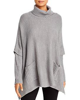 Alison Andrews - Turtleneck Poncho Sweater