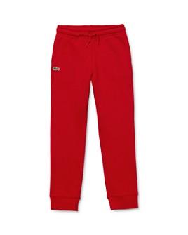 Lacoste - Boys' Fleece Jogger Pants - Little Kid, Big Kid
