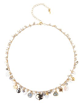 """Chan Luu - Adjustable Cultured Freshwater Pearl Necklace in 18K Gold-Plated Sterling Silver, 15""""-18"""""""
