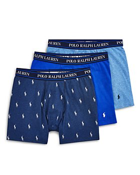 Polo Ralph Lauren - Stretch Cotton Boxer Briefs - Pack of 3