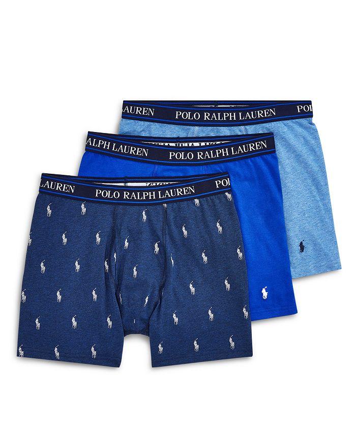Polo Ralph Lauren - Stretch Cotton Boxer Briefs - Pack of 3