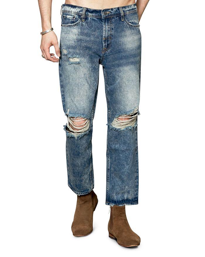 The People Vs. Slim Fit Lithium Jeans In Vintage Indigo