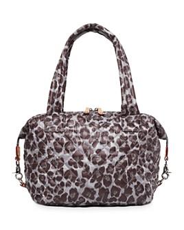 MZ WALLACE - Leopard-Print Medium Sutton Shoulder Bag