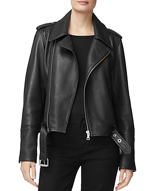 J Brand Maysen Leather Moto Jacket