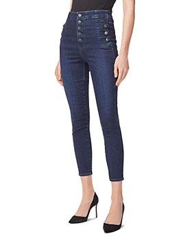 J Brand - Natasha Sky High Cropped Skinny Jeans in Reality