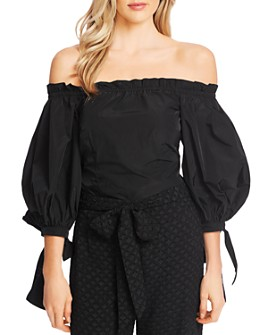 CeCe - Off-the-Shoulder Balloon Sleeve Top