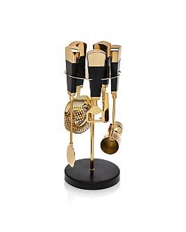 Godinger - Nero D'Oro Bar Tool Set - 100% Exclusive