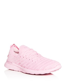 APL Athletic Propulsion Labs - Women's Techloom Wave Lace-Up Knit Low-Top Sneakers