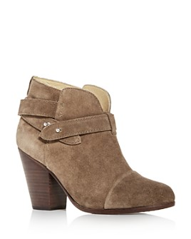 rag & bone - Women's Harrow Cap-Toe High-Heel Booties