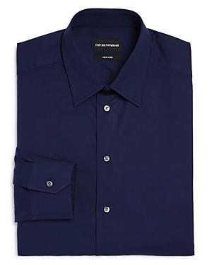 Solid Twill Regular Fit Dress Shirt
