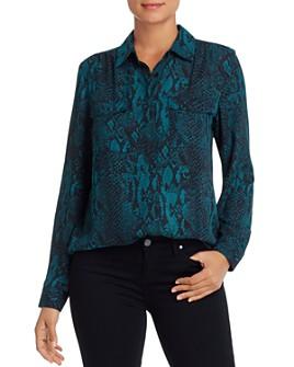 Marled - Leopard-Print Shirt